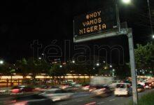Photo of #HoyVamosNigeria, el mensaje de los carteles de tránsito que se hizo viral