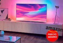 Photo of También a precio mínimo, las 50 pulgadas con Ambilight de la Philips Ambilight 55PUS7354, ahora te salen en Amazon por sólo 469,99 euros
