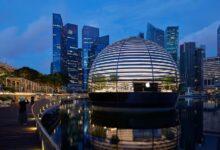 Photo of La espectacular Apple Store de Marina Bay Sands en Singapur se inaugura este jueves