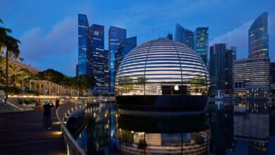 Photo of La espectacular Apple Store de Marina Bay Sands en Singapur se inaugura este jueves