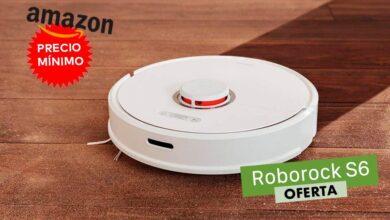 Photo of Sólo hoy, precio mínimo en Amazon para el robot aspirador Roborock S6: lo tienes por 399 euros con 100 de rebaja