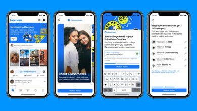 Photo of Facebook regresa a sus orígenes lanzando una red social sólo para universitarios