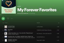 Photo of Así es 'Mis eternos favoritos', lo nuevo de Spotify para compartir en redes sociales nuestras canciones de siempre