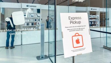 Photo of Apple convierte temporalmente algunas de sus tiendas a Apple Express, una versión simplificada de la experiencia