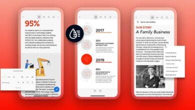 """Photo of Adobe quiere mejorar los PDF de siempre con un nuevo """"modo líquido"""" que hará los documentos más fáciles de leer según la pantalla"""