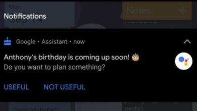 Photo of El Asistente de Google ya empieza a avisarte de los cumpleaños de tus amigos y contactos