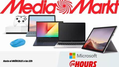 Photo of Microsoft Hours en MediaMarkt: portátiles, tablets, consolas o ratones a precios rebajados… si te das prisa
