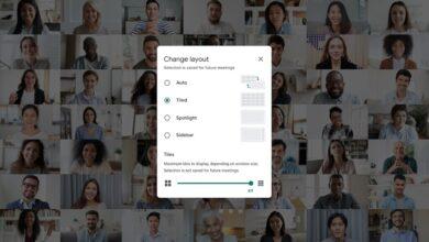 Photo of Google Meet ya es capaz de desenfocar el fondo y mostrar a 49 personas a la vez en pantalla