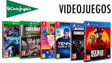 Photo of Ni un minuto de aburrimiento con estos videojuegos en oferta en El Corte Inglés: GTA V, Red Dead Redemption 2, Call of Duty, Final Fantasy y más a precios de risa