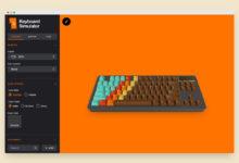 Photo of Keyboard Simulator es una genial web interactiva en la que puedes diseñar tu próximo teclado mecánico