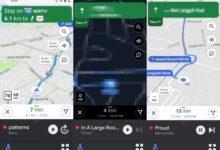 Photo of Google Maps comienza a actualizarse con un nuevo diseño para el modo coche