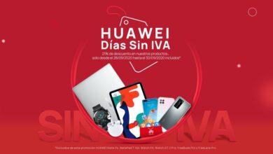 Photo of Tabletas desde 90 euros, smartphones por 138 euros y portátiles, smartwatches o auriculares con descuento: las mejores ofertas de los Días sin IVA Huawei