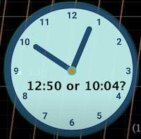 Photo of El reloj con las manecillas de longitudes iguales y los momentos en los que es imposible saber qué hora es