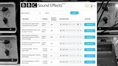 Photo of La BBC publica 16.000 efectos de sonidos que se pueden descargar para usar en cualquier proyecto