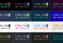 Photo of Fira Code, Iosevka, Hasklig: tipografías monoespaciadas con ligaduras para escribir código (libres y gratuitas)