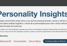 Photo of El Test de Personalidad de IBM: la inteligencia artificial que busca saber cómo somos en base a lo que escribimos