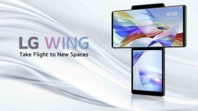 Photo of Así es el LG Wing 5G, el novedoso teléfono móvil con pantalla giratoria de LG