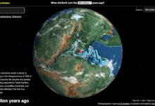 Photo of Ancient Earth: una especie de Google Earth de la época de los dinosauros que te dice cuáles paseaban por tu barrio