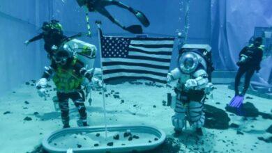 Photo of Bajo el agua: así practican la caminata lunar los astronautas de la misión Artemisa