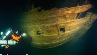 Photo of Este es el sorprendente estado en el que se encuentra un barco hundido del siglo XVII
