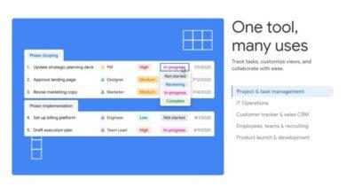 Photo of Tables, el nuevo proyecto de Google