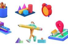 Photo of Iconos 3D gratuitos, lista de sitios para Download