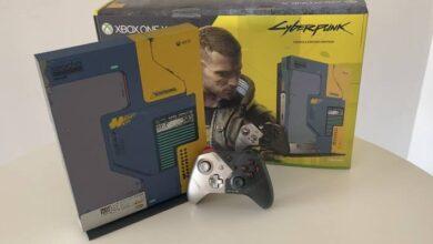 Photo of Cyberpunk 2077: mira nuestro unboxing de la Xbox One X edición especial del juego
