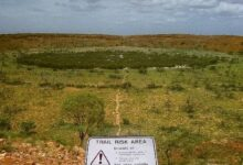 Photo of Mide aproximadamente 5 kilómetros y tiene 100 millones de años: así luce el cráter de meteorito que descubrieron en Australia