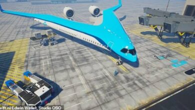 Photo of El Flying V, un avión menos contaminante, realizó su vuelo de prueba