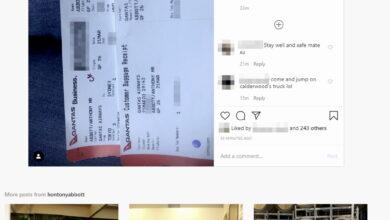 Photo of La enrevesada e increíble historia del tipo que llegó hasta el pasaporte del Primer Ministro australiano a través de la foto de una tarjeta de embarque en Instagram