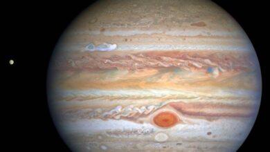 Photo of La NASA compartió esta impresionante imagen de las tormentas de Júpiter