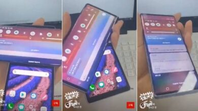 Photo of LG Wing se filtra en video con su pantalla doble que gira y es tan raro como imaginas