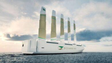 Photo of Conoce al Oceanbird, la embarcación que puede transportar 7 mil autos ¡solo con la fuerza del viento!