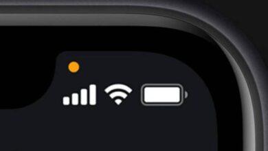 Photo of iPhone: ¿qué significa el punto naranja de iOS 14? También hay uno verde