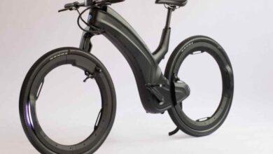Photo of Reevo, bicicleta eléctrica de diseño futurista con ruedas sin radios