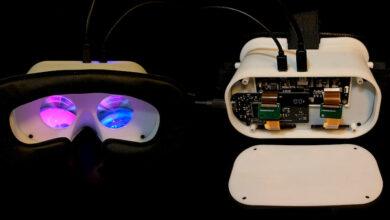 Photo of Relativty: unas gafas RV de código abierto por unos 170 euros