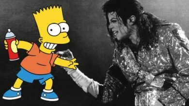 Photo of Los Simpson: Michael Jackson y Bart interpretan una canción que seguramente no conoces