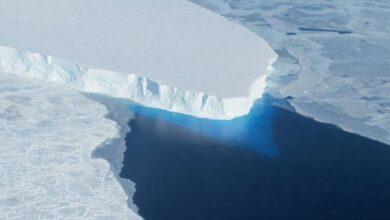 Photo of Impactantes imágenes satelitales muestran la disminución de dos glaciares en la Antártida