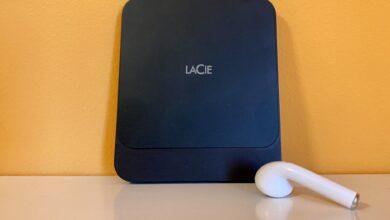Photo of LaCie Portable SSD, almacenamiento abundante y tamaño reducido