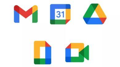 Photo of Así son los nuevos iconos de Gmail, Calendar, Drive, Docs y Meet