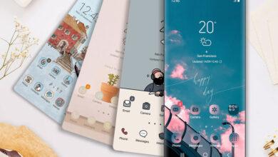 Photo of 21 temas recomendados para One UI, la capa de personalización de los móviles Samsung