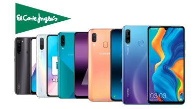 Photo of Huawei, OPPO, LG, Samsung, Xiaomi… 21 smartphones que puedes comprar más baratos en El Corte Inglés