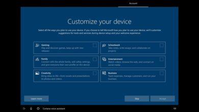 Photo of Windows 10 permitirá que elijamos qué tipo de usuario somos para recomendarnos herramientas y servicios