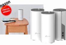 Photo of Ahora en Amazon, tienes un kit de 3 nodos para montar una red WiFi en malla como el TP-Link Deco E4 a su precio más bajo hasta la fecha: 99,99 euros