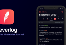Photo of Everlog es una app minimalista para anotar todos tus diarios en el iPhone y iPad que siempre querrás usar