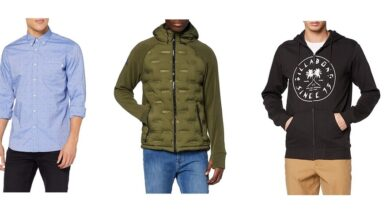 Photo of Chollos en tallas sueltas de chaquetas, jerseys y camisas Superdry, Billabong o Hackett a la venta en Amazon
