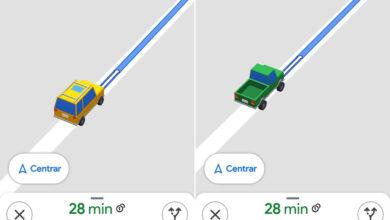 Photo of Cómo cambiar el icono de la flecha de Google Maps por un coche en 3D