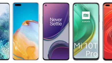 Photo of OnePlus 8T, así queda frente a Xiaomi Mi 10T Pro, Poco F2 Pro, Galaxy S20+ y resto de gama alta Android
