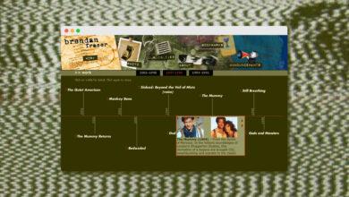 """Photo of Una web """"momificada"""": la página de Brendan Fraser no ha cambiado desde 2005"""