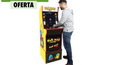 Photo of Esta Arcade 1UP con el clásico Pac-Man está a su precio mínimo hoy en Amazon: un salón de recreativas en tu casa por 319 euros